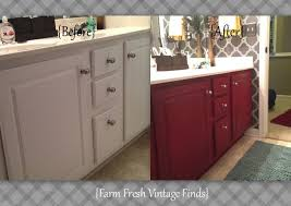 Refinishing Bathroom Vanity Awesome How To Transform Your Bathroom Vanity Farm Fresh Vintage Finds