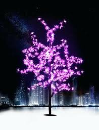 cherry blossom lamp outdoor waterproof artificial led cherry blossom tree lamp tree light for home festival cherry blossom lamp