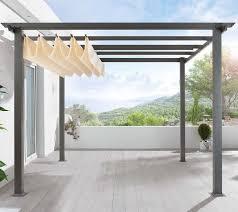 diy pergola kit canopy included
