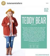 2019 Lularoe New Release The Teddy Bear Jacket Direct