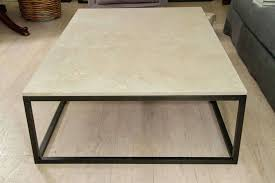 seagrass coffee table stone top coffee table on blackened metal base for at round seagrass seagrass coffee table round