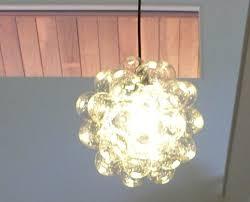 homemade lighting ideas. homemade light ball clear christmas ornaments glued onto a bowl encasing bulb lighting ideas