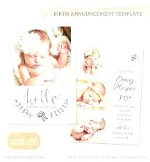 Image 0 Twin Birth Announcement Template Twins Bgcwc Co