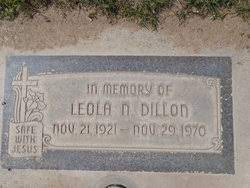 Leola Nadine Moberly Dillon (1921-1970) - Find A Grave Memorial