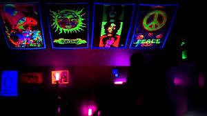 Cool Black Light Designs Black Light Room Youtube