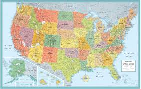 Large Us Map Poster Large Push Pin Rustic Usa Map Poster Download United States