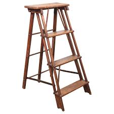 small wood ladder for