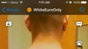 Image result for racist grindr profiles