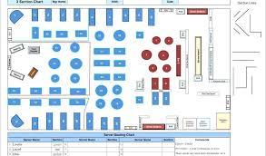 Restaurant Seating Chart Template Excel Bedowntowndaytona Com
