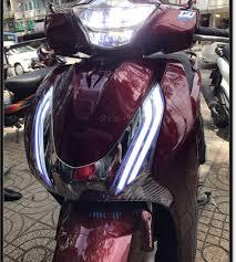 Hot: Đèn led 2 tầng cho xe máy SH 2012 2016 Exciter 150 Vision Lead SH