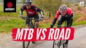 GMBN Vs GCN | From Here To There: <b>MTB</b> Vs <b>Road Bike</b> Challenge ...