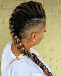 Mo Hock Hair Style mohawk braids 12 braided mohawk hairstyles that get attention 4313 by stevesalt.us