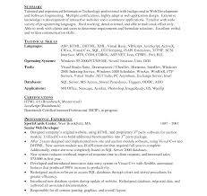 Web Designer Resume Example Simple Web Designer Resume Examples Sample For Freshers Cv Samples 26