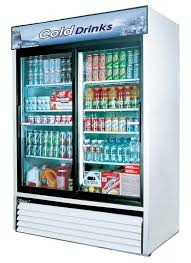 randell 2022 46 cuft reach in double sliding glass door refrigerator sub