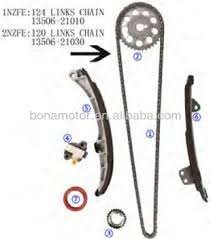 For Toyota 1nz-fe Dohc 16v 1.5l 99-05 Timing Chain Kits - Buy For ...
