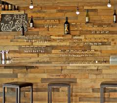 Industrial Style Bar Home With Cabinetry Professionals