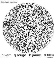 Coloriage Magique 18 Dessin