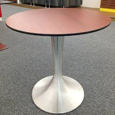high pressure fire proof compact square to round table top for 8 ireland modern wooden round center table