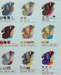 Spectrum Noir Hair Color Chart 1 By Jennie Black Cards And