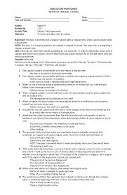 Subject Verb Agreement Worksheets High School Free Worksheets ...