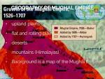 Mughal Empire Geography