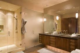 bath lighting ideas view in gallery contemporary bathroom with elaborate vanity design lit up fashionably bathroom lighting ideas photos