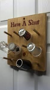 shot glass display collection displays or holder diy