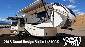 Grand Design 310gk 2018 Grand Design Solitude 310gk Fifth Wheel Video Tour Voyager Rv Centre