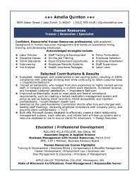 Sample Hr Resume HR Resume Format HR Sample Resume HR CV Samples Naukri 20
