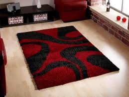strikingly red and black rug area rugs centre