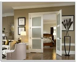 interior french double doors with frosted glass brilliant interior french doors opaque glass