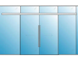 polaris auto magnetic sliding glass door 2