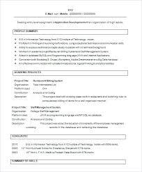 Resume Formats For Freshers Resume Templates For Freshers Resume