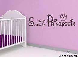 Wandtattoo Für Mädchen Text Schlaf Gut Prinzessin Krone Sprüche