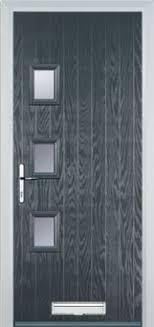grey front doorGrey Composite Doors