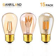 Đèn LED Dây Tóc Bóng Đèn ST45 1W 3W E27 Trung Đế Ấm 2200K Ngoài Trời Chống  Nước LED Dây 10 sợi Đốt Thay Thế Bóng Đèn|LED Bulbs & Tubes