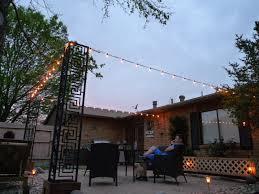 diy cable lighting. Diy Cable Lighting. Diy: Stringing Patio Cafe Lights Lighting O G