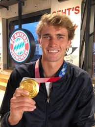 3 in the world by the association of tennis profe. Olympic Champion Zverev Visits Fcb A Huge Occasion For Me