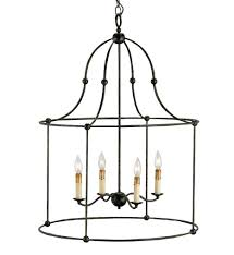 currey company 9160 fitzjames 4 light pendant with mayfair finish undefined