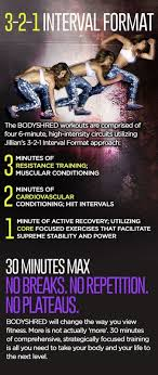 in the last four weeks you have had lots of experience with the 3 2 1 format this format allows jillian to maximize your potential in each circuit