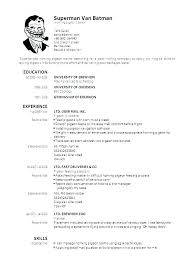 A Professional Resume Format Resume Formats For Experienced Free ...