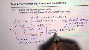 polynomial inequality q3 test advance functions mhf unit 4