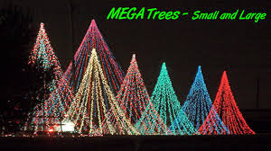 How To Make The Ultimate Christmas Light Feature – The Mega tree |