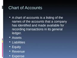 Charts Of Accounts Accounting Ppt Powerpoint
