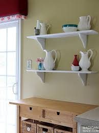 Cafe Shelving A Simple Kitchen Update Rosyscription
