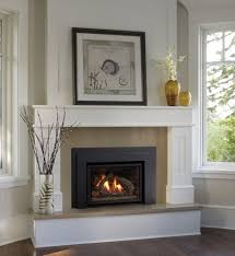 image of gas insert fireplace mantels surrounds white corner fireplace throughout gas fireplace with mantel