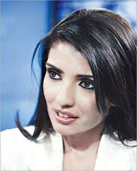 "... an Egyptian MP has decided not to wait that long and has already brought a lawsuit against her."" Saudi Woman Nadine Al-Bedair (photo: alraimedia.com) - nadine_al-bedair"