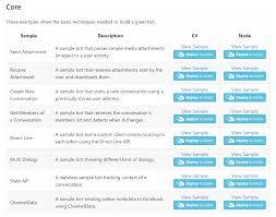 New Bot Builder Sdk Samples Released Microsoft Bot Framework