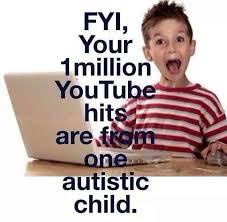 parent of autistic child blog