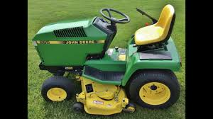 john deere riding lawn tractor w mower deck gr catcher